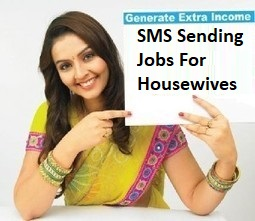 SMS Sending Jobs For Housewives